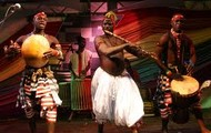 African Music with Drums and Interesting Instruments