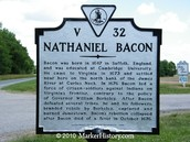 bacon died of dysentery on october 26, 1676 from dysentery