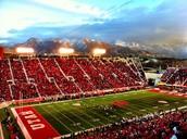 The University of Utah football field