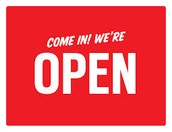 Come visit us when we're open!
