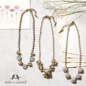 Bella Fiore & Gardenia necklaces