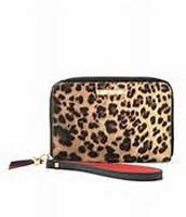 Chelsea Tech Wallet- Leopard