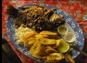 Pescado con legumbres por Trescientos cuarenta y ocho mil novecientos noventa y tres (348993pesos) honduran lempira