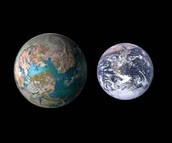 This is Earth II compared to Earth I