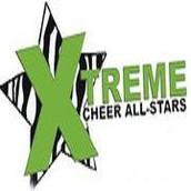 Skating with Xtreme Cheer All-Stars' Nationals Teams at Rinkratz!
