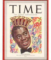 Louis on the cover of Time Magazine (1949)