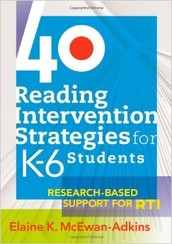 Book of the month: 40 Reading Intervention Strategies for K-6 Students