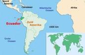 Ligging Ecuador
