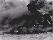 USS Arizona, 12 minutes into the attack
