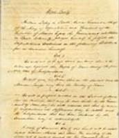 The Treaty of Velasco (Private), May 14, 1836