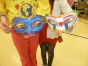 French Carnival masks!