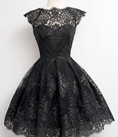 une robe noir