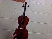 A violen from orchastra