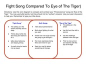 Fight Song vs Eye of the Tiger