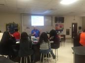 Coach Taylor delivers pertinent information regarding evolution.