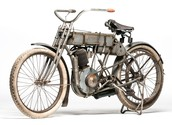 One of their first motorcycles.