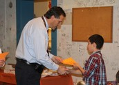 Character lunch celebrates students as role models