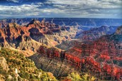 A pichtor of Grand canyon