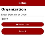 Step 3: Enter Organization Code