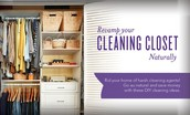 Revamp your cleaning closet!