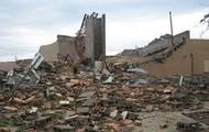 Deleterious of climate change causing horrible destruction
