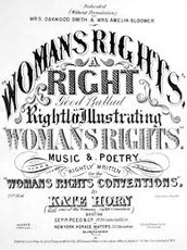 Rights women didn't have from 1820-1860