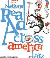 Read Across America Day - March 2nd