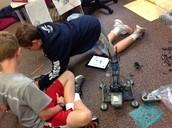 Owen, Joel, and Austin's Robot