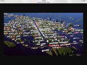 Whole city floods