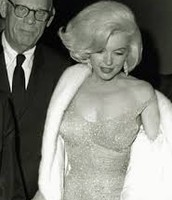 Marilyn & her father, Martin Edward Mortensen