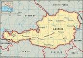 A Map of Vienna, Austria