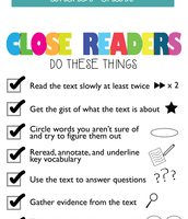 """Educational Read: """"Closing in on Close Reading"""""""