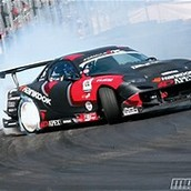 This is one type of racing called drifting
