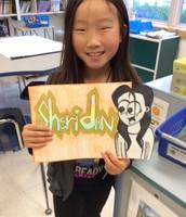 Fourth Grade: A Cartoon of Me
