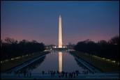 Washington Monument and the Reflecting Pool