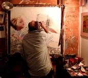 Working Artist Studio