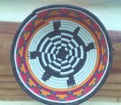 woven embera baskets