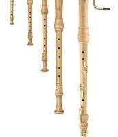 Recorder from the Baroque era