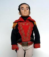 Simon Bolivar Action Figure