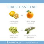 From Aromatools...A StressLess Blend