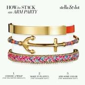 Bracelets, bracelets and more bracelets