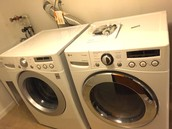 Washer & Dryer - Three years old