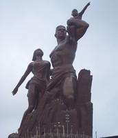Un monument dans le Sénégal....