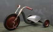Tricycle de roues en metal