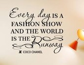 """A Quote By Coco Chanel"""
