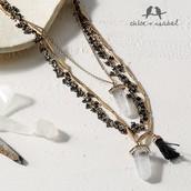 Atlas Three-Row Convertible Necklace