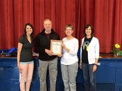Mr. and Mrs. Gant - Friends of Education Award