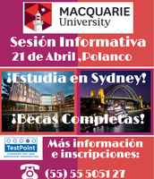 Sesión informativa con Macquarie University