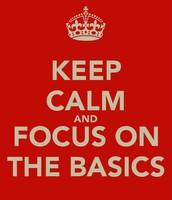 This Week Let's Focus On...