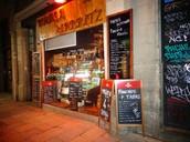 nosotros Vas a Bodega Biarritz 1881 y comer